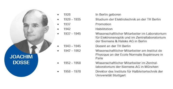 Lebenlauf von Prof. Joachim Dosse (c)